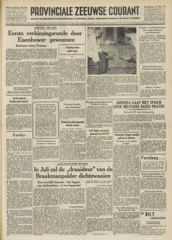 Provinciale Zeeuwse Courant 1952-03-13
