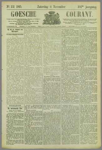 Goessche Courant 1915-11-06