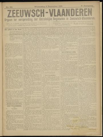 Luctor et Emergo. Antirevolutionair nieuws- en advertentieblad voor Zeeland / Zeeuwsch-Vlaanderen. Orgaan ter verspreiding van de christelijke beginselen in Zeeuwsch-Vlaanderen 1920-12-08