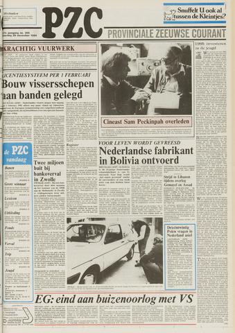 Provinciale Zeeuwse Courant 1984-12-29
