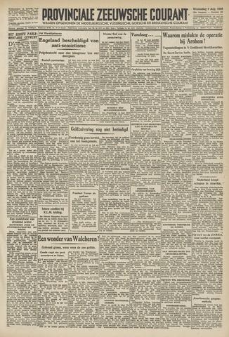Provinciale Zeeuwse Courant 1946-08-07