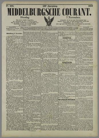 Middelburgsche Courant 1893-11-07