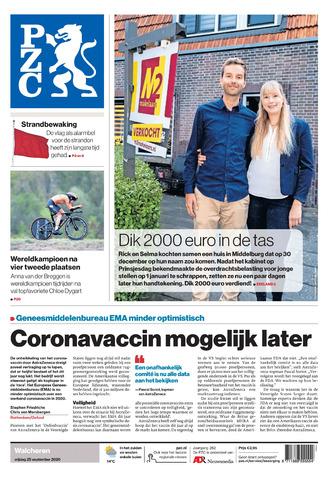 Provinciale Zeeuwse Courant 2020-09-25