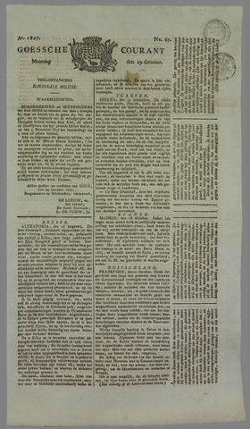 Goessche Courant 1827-10-29