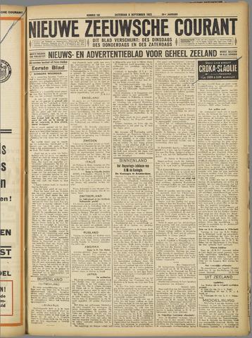 Nieuwe Zeeuwsche Courant 1923-09-08