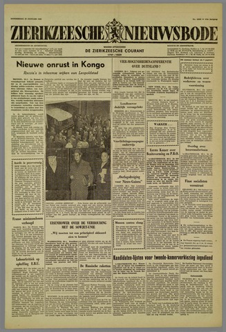 Zierikzeesche Nieuwsbode 1959-01-29