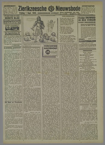 Zierikzeesche Nieuwsbode 1933-09-01