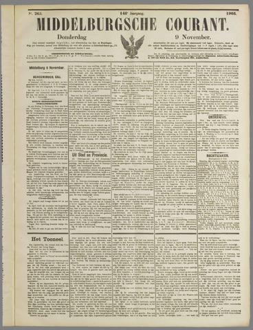 Middelburgsche Courant 1905-11-09