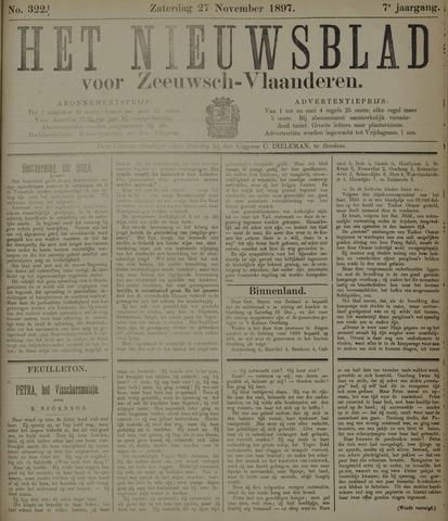 Nieuwsblad voor Zeeuwsch-Vlaanderen 1897-11-27