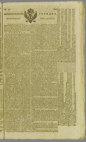 Middelburgsche Courant 1806-04-03