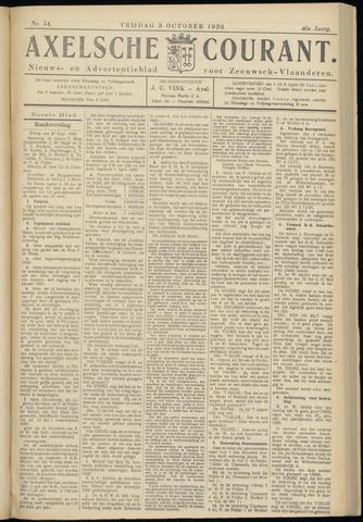 Axelsche Courant 1930-10-03