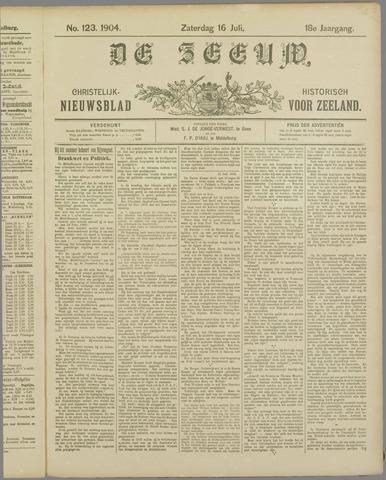 De Zeeuw. Christelijk-historisch nieuwsblad voor Zeeland 1904-07-16