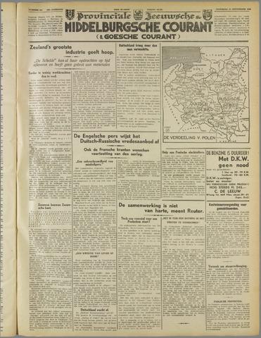 Middelburgsche Courant 1939-09-30