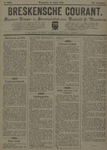 Breskensche Courant 1915-04-14