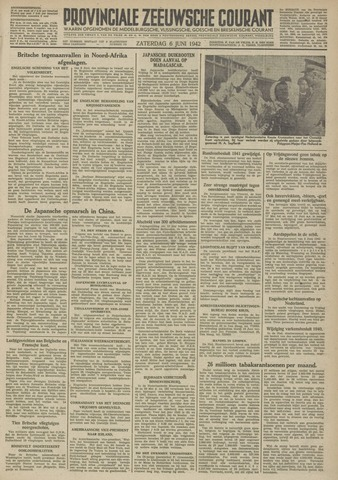 Provinciale Zeeuwse Courant 1942-06-06