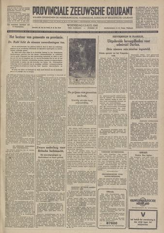 Provinciale Zeeuwse Courant 1941-08-13