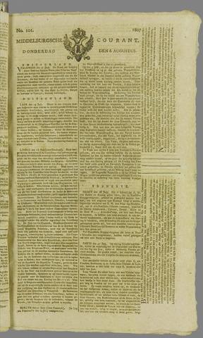Middelburgsche Courant 1807-08-06