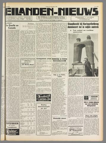 Eilanden-nieuws. Christelijk streekblad op gereformeerde grondslag 1967-09-22