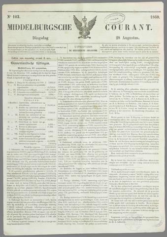 Middelburgsche Courant 1860-08-28
