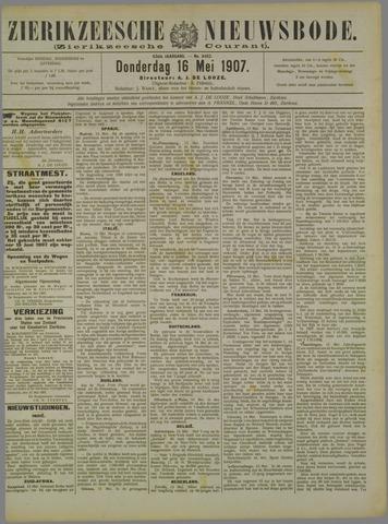 Zierikzeesche Nieuwsbode 1907-05-16