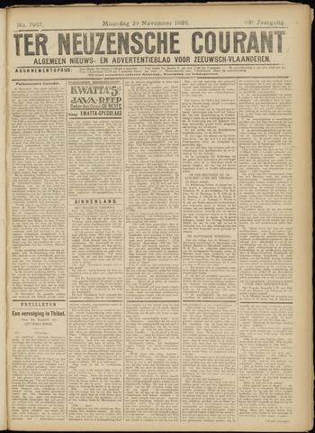Ter Neuzensche Courant. Algemeen Nieuws- en Advertentieblad voor Zeeuwsch-Vlaanderen / Neuzensche Courant ... (idem) / (Algemeen) nieuws en advertentieblad voor Zeeuwsch-Vlaanderen 1926-11-29