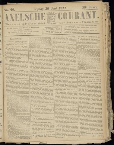 Axelsche Courant 1922-06-30