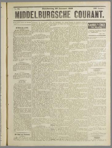 Middelburgsche Courant 1925-01-29
