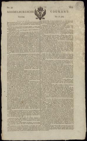 Middelburgsche Courant 1814-07-30