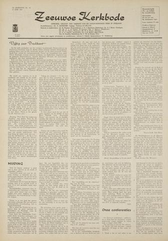 Zeeuwsche kerkbode, weekblad gewijd aan de belangen der gereformeerde kerken/ Zeeuwsch kerkblad 1969-06-12