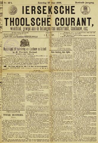 Ierseksche en Thoolsche Courant 1896-06-27