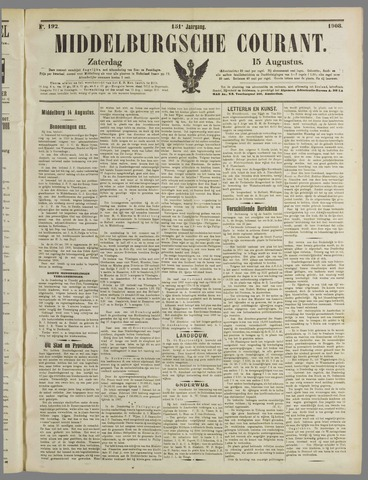 Middelburgsche Courant 1908-08-15