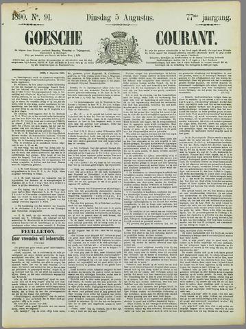 Goessche Courant 1890-08-05