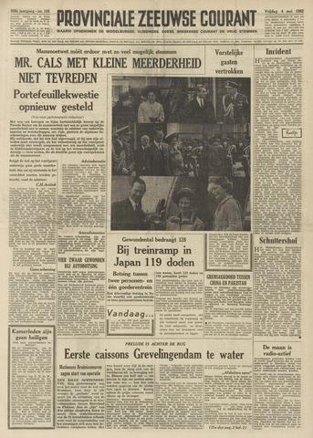 Provinciale Zeeuwse Courant 1962-05-04