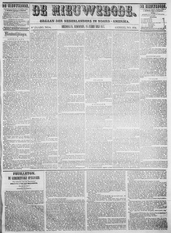 Sheboygan Nieuwsbode 1857-02-24