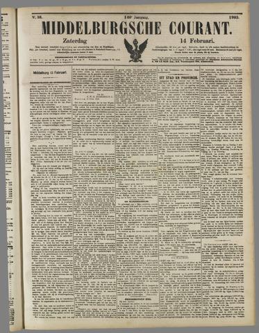 Middelburgsche Courant 1903-02-14