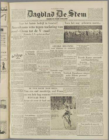 de Stem 1954-07-09