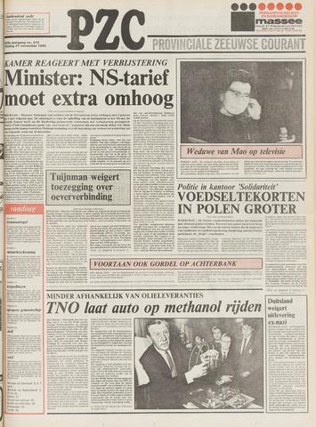 Provinciale Zeeuwse Courant 1980-11-21