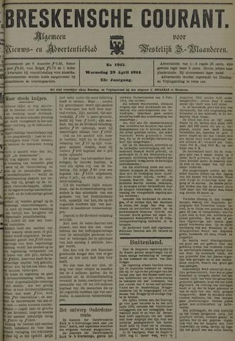 Breskensche Courant 1914-04-29