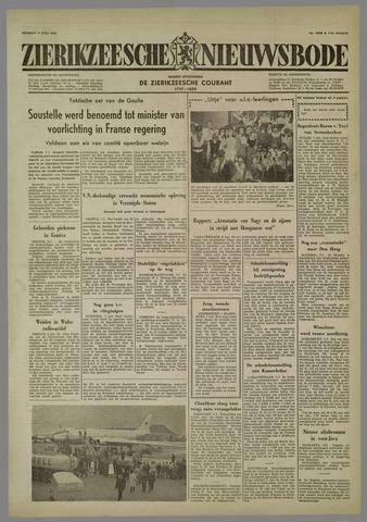 Zierikzeesche Nieuwsbode 1958-07-08