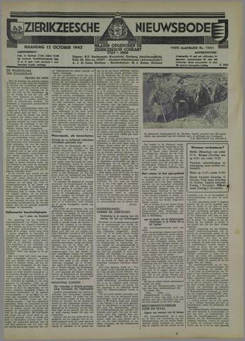 Zierikzeesche Nieuwsbode 1942-10-12