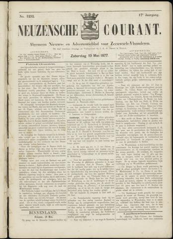 Ter Neuzensche Courant. Algemeen Nieuws- en Advertentieblad voor Zeeuwsch-Vlaanderen / Neuzensche Courant ... (idem) / (Algemeen) nieuws en advertentieblad voor Zeeuwsch-Vlaanderen 1877-05-19