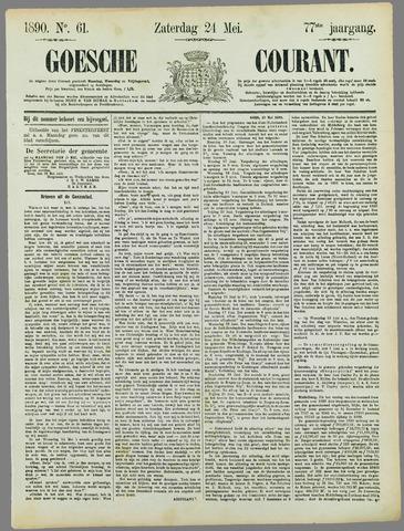 Goessche Courant 1890-05-24