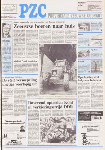 Provinciale Zeeuwse Courant 1990-02-21