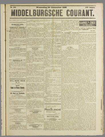 Middelburgsche Courant 1925-12-30