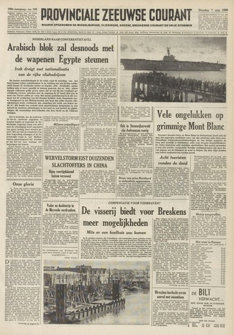 Provinciale Zeeuwse Courant 1956-08-07