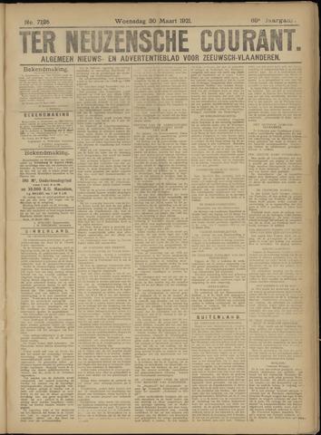 Ter Neuzensche Courant. Algemeen Nieuws- en Advertentieblad voor Zeeuwsch-Vlaanderen / Neuzensche Courant ... (idem) / (Algemeen) nieuws en advertentieblad voor Zeeuwsch-Vlaanderen 1921-03-30