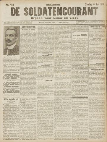 De Soldatencourant. Orgaan voor Leger en Vloot 1917-07-08