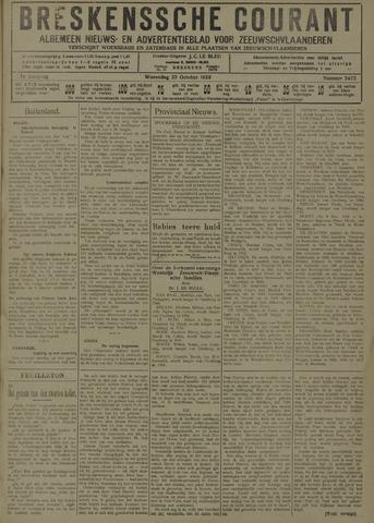 Breskensche Courant 1929-10-23
