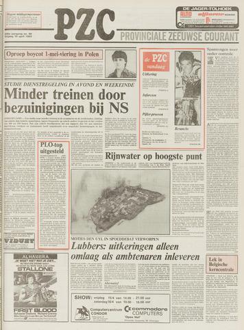 Provinciale Zeeuwse Courant 1983-04-15