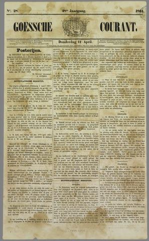 Goessche Courant 1861-04-11
